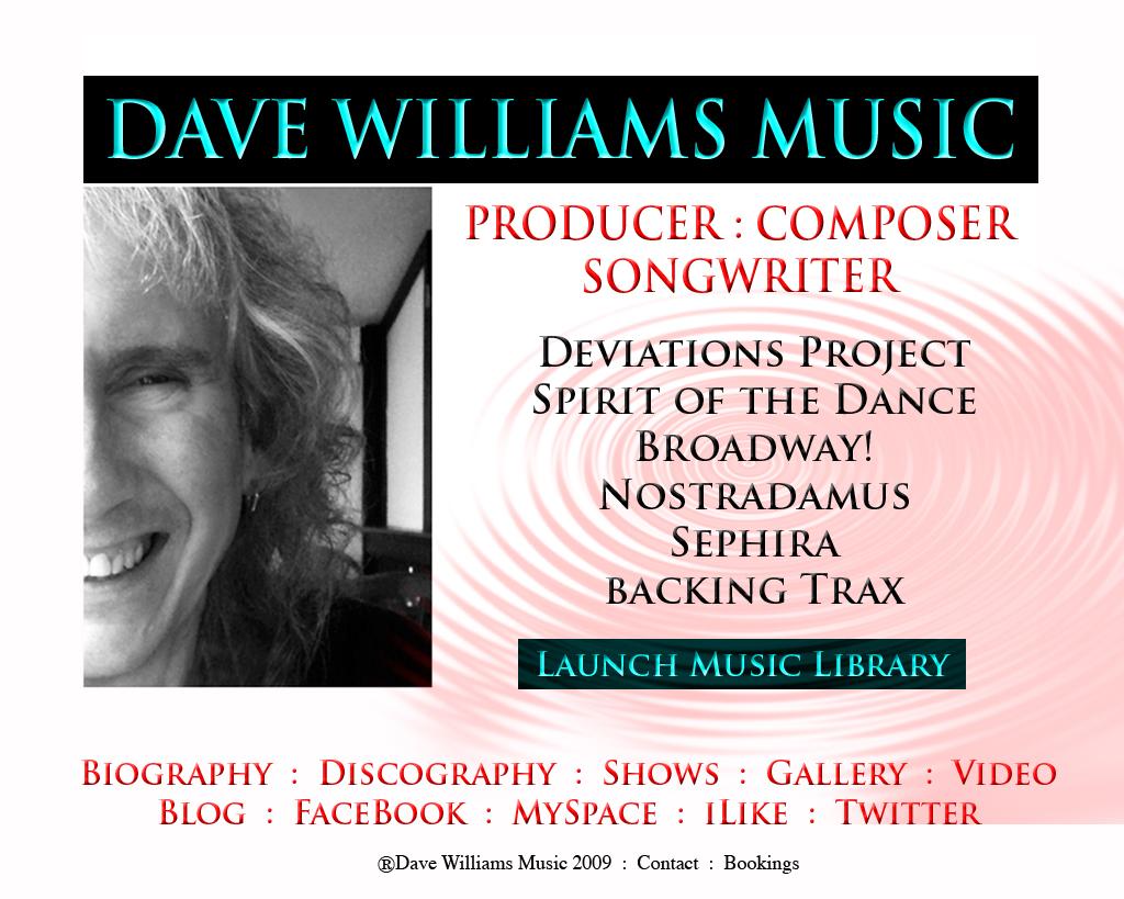 DaveWilliamsMusic